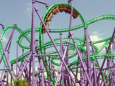 24 People Are Stuck on a Six Flags Roller Coaster