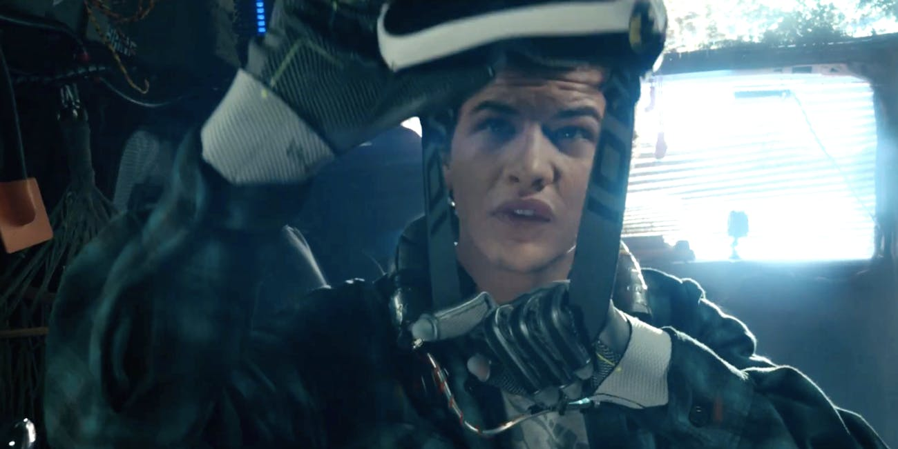 Tye Sheridan as Wade in 'Ready Player One'