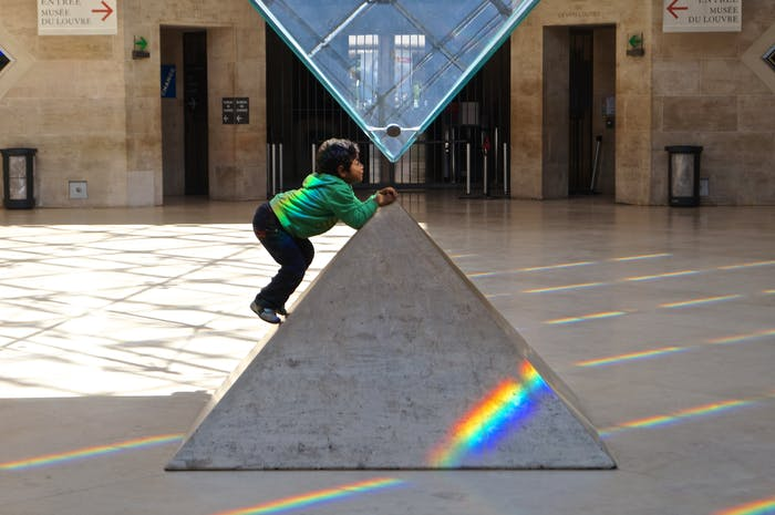 Dark Side of the Louvre