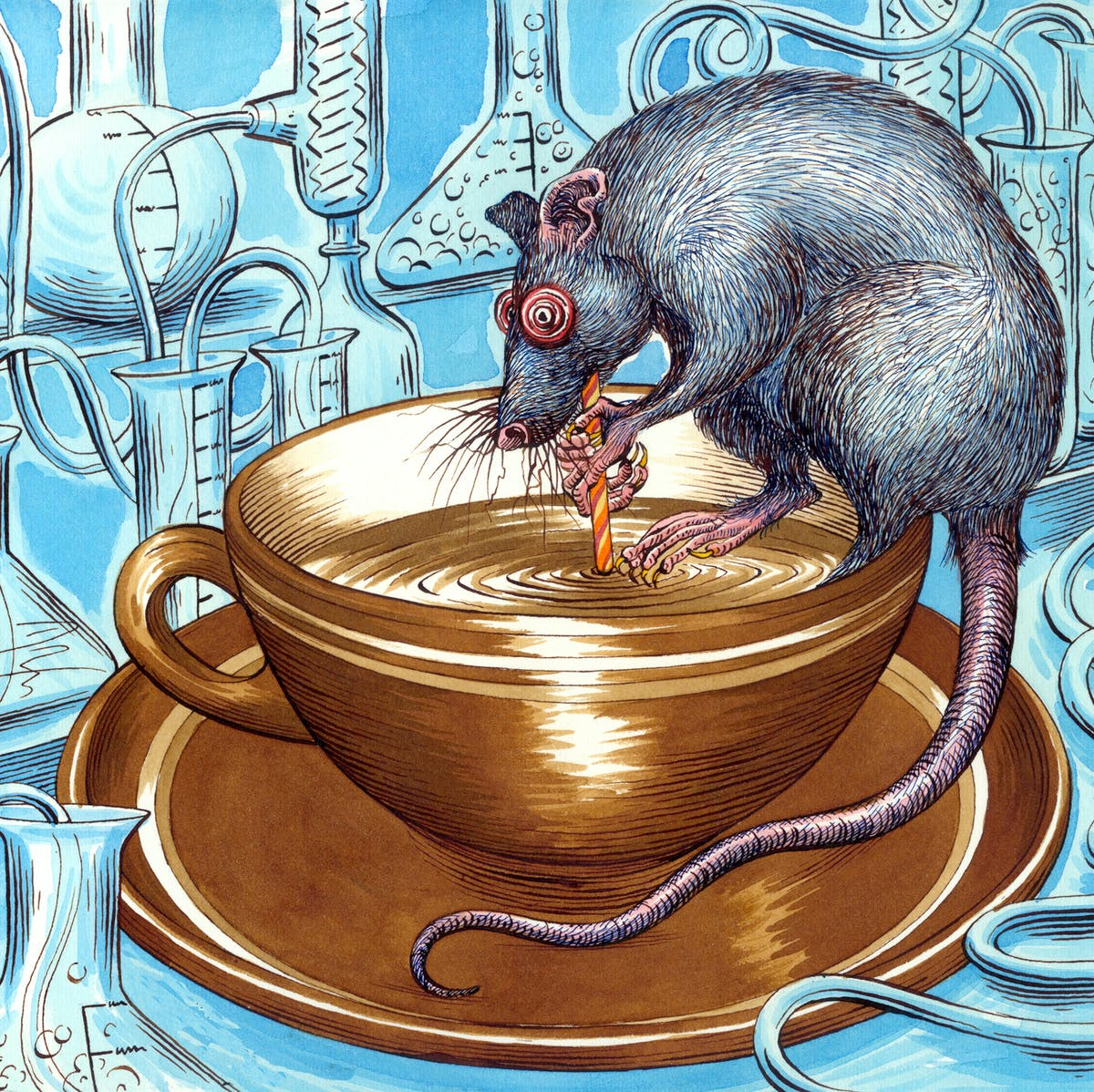 Coffee Rat reminds us what rodents can teach science about caffeine