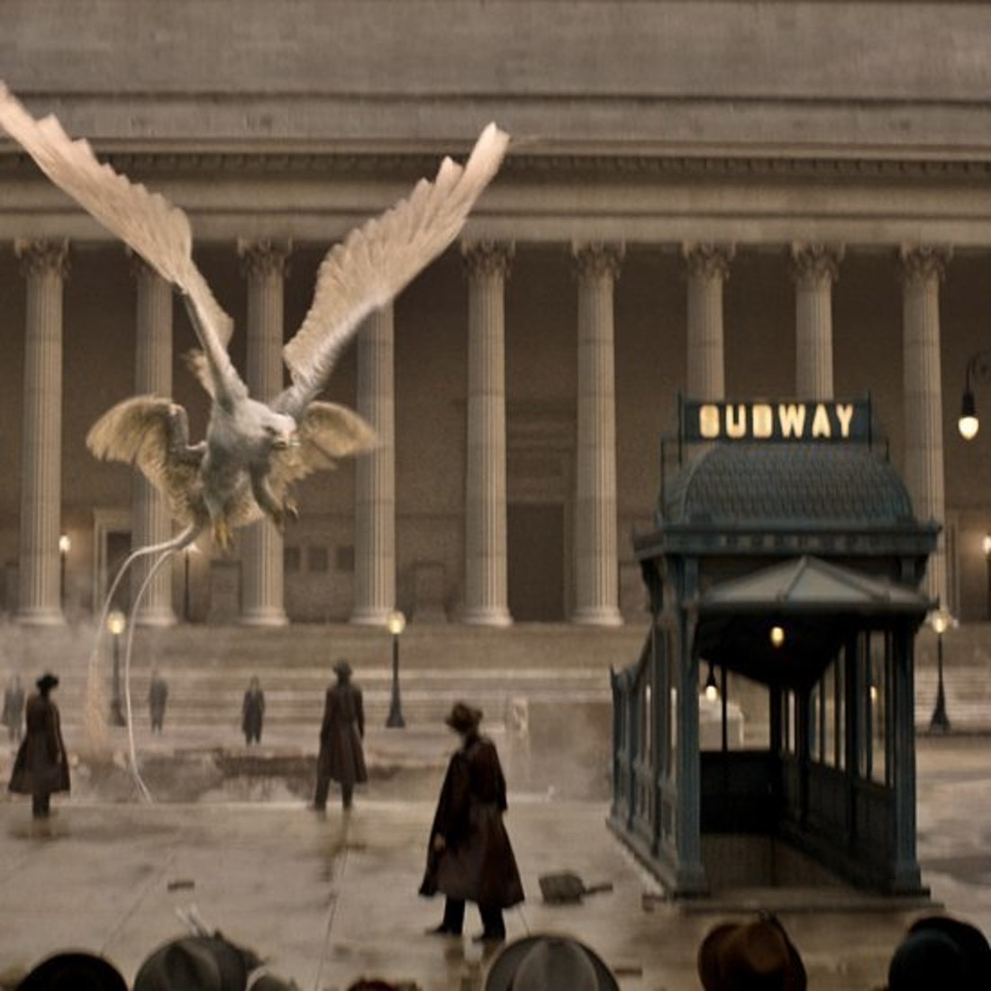The Thunderbird in 'Fantastic Beasts and Where to Find Them'