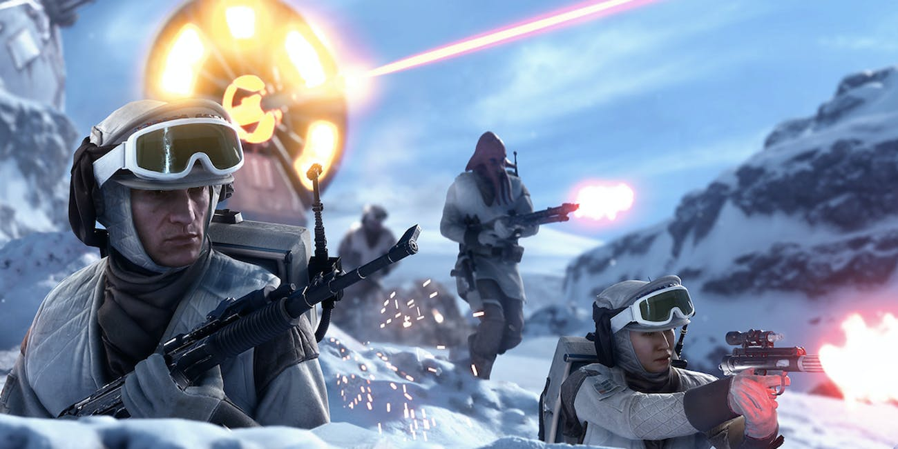 'Star Wars Battlefront' has a slew of characters from the original trilogy and beyond.