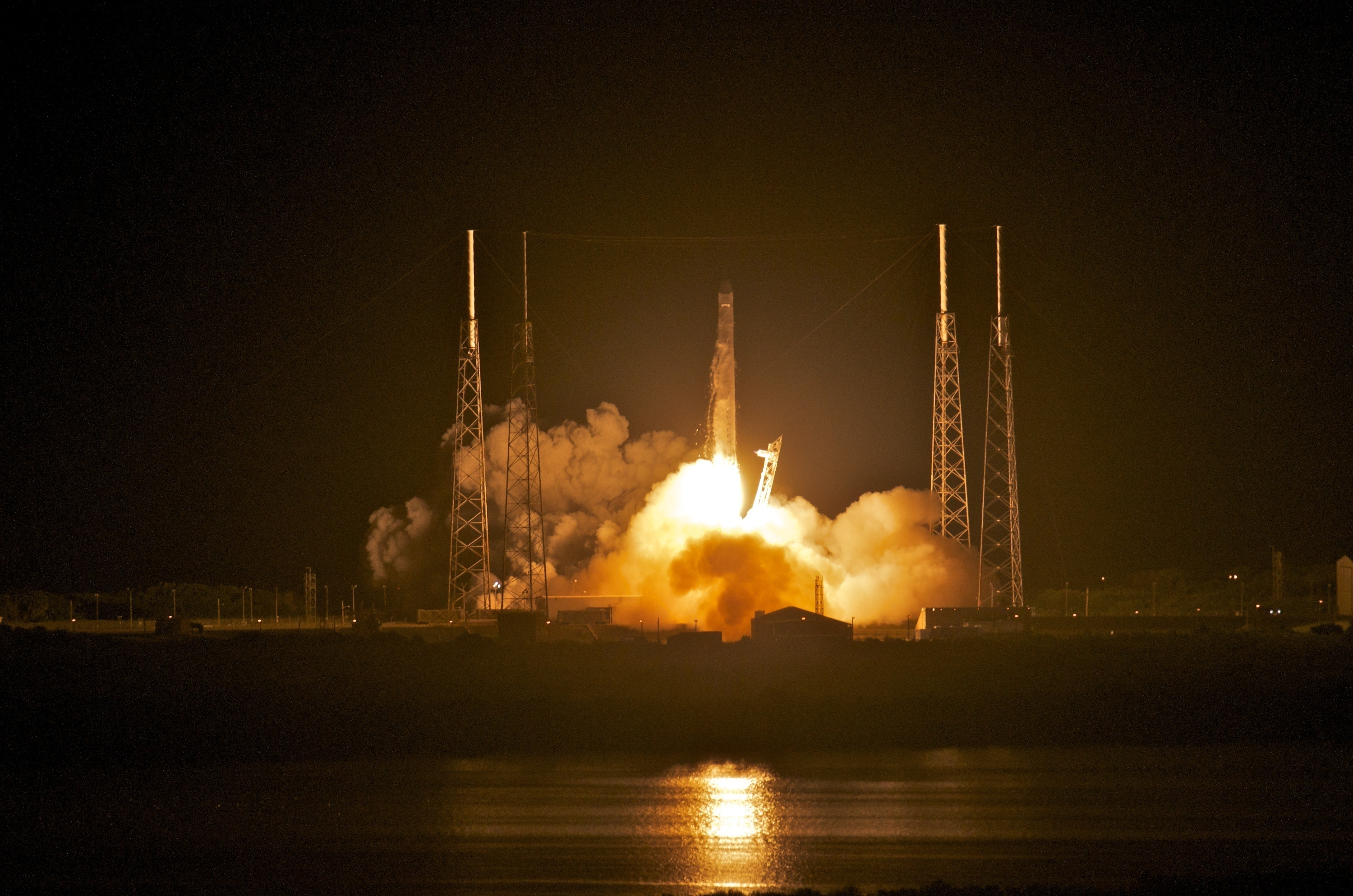 SpaceX makes its first launch to the International Space Station in 2012.