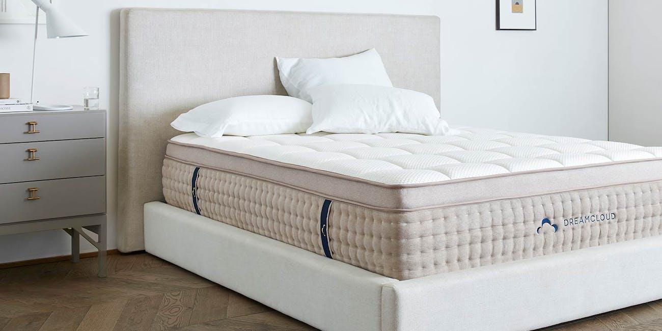 luxury mattress, hybrid mattress, dreamcloud mattress