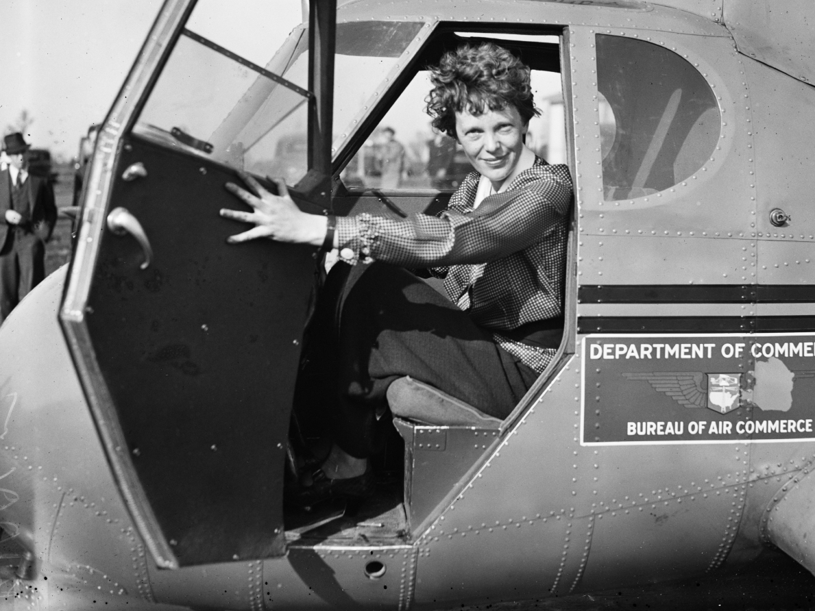 Unusually Long Skeleton Arms Reopen Amelia Earhart Mystery