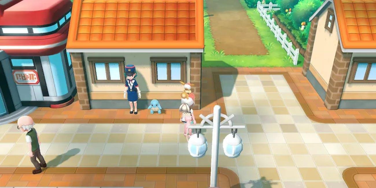 'Pokémon Let's Go' Squirtle