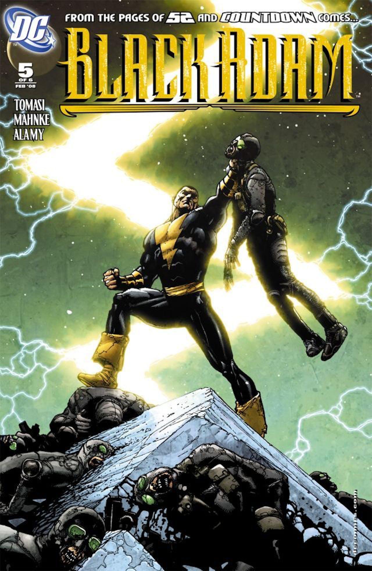 DC Black Adam DC Comics