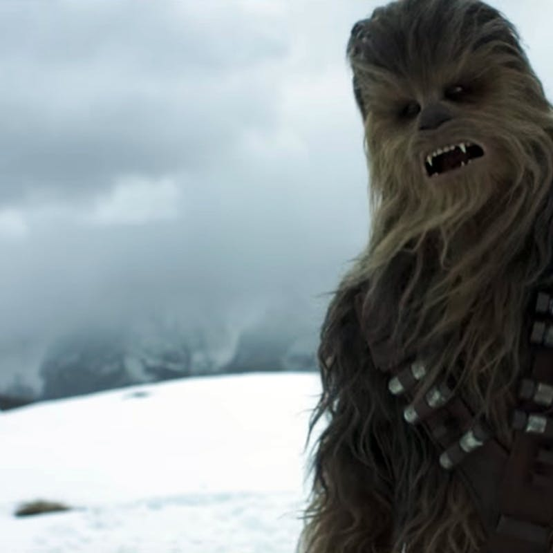 solo trailer might retcon the star wars holiday special inverse - What Do You Get A Wookie For Christmas