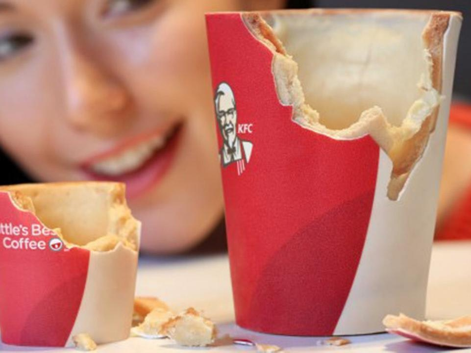 KFC's Edible Bowl Will Lead a Populist, Sustainable Table Manners Revolution