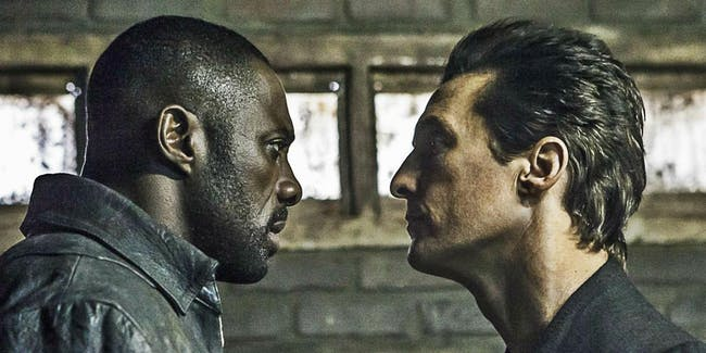 Idris Elba and Matthew McConaughey star in 'The Dark Tower.'