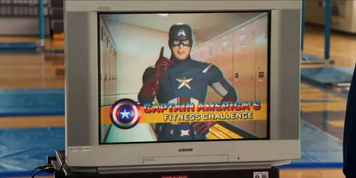 Image result for spider man homecoming captain psa fitness challenge