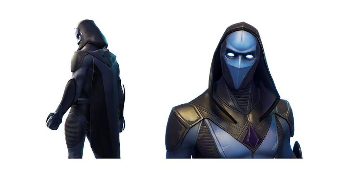 'Fortnite: Battle Royale' Omen Skin
