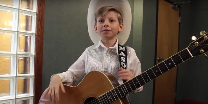 Yodeling Kid Mason Ramsey