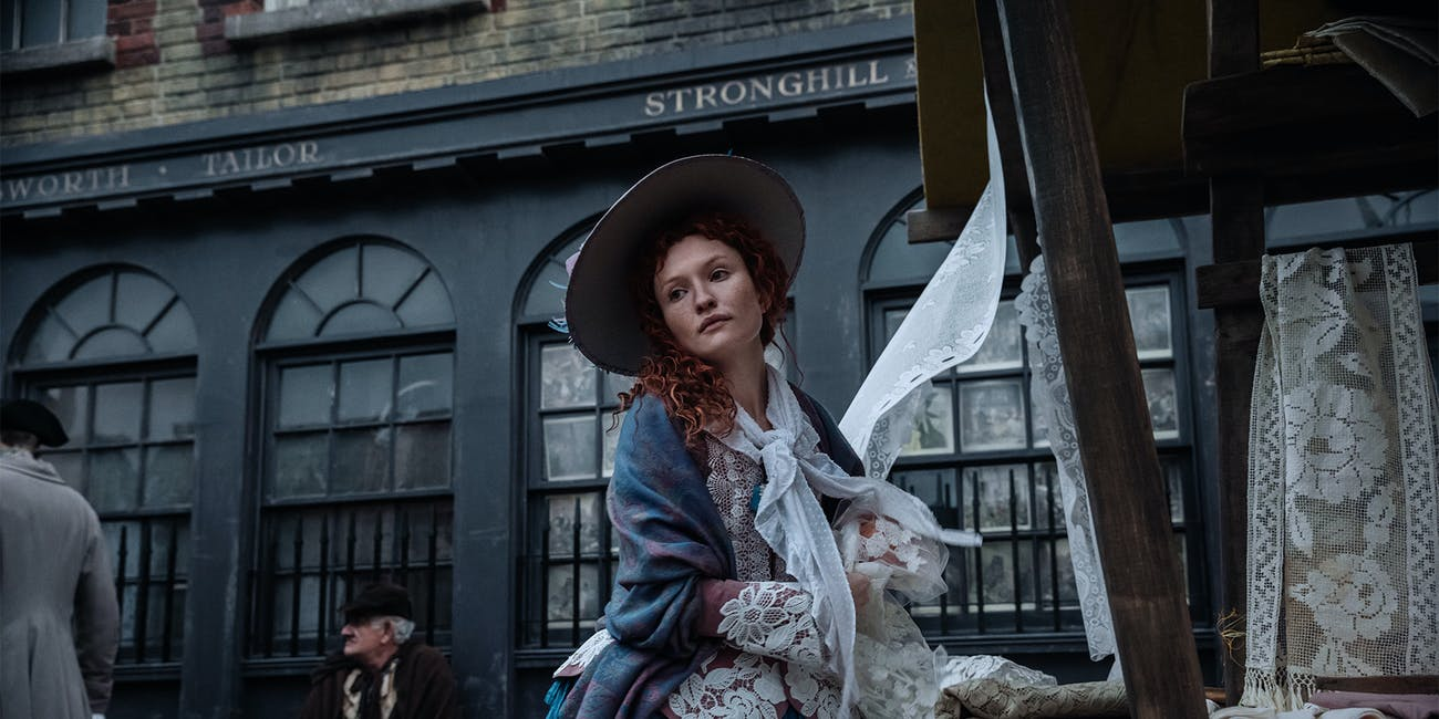 Emily Browning in 'American Gods' Prayer for Mad Sweeney