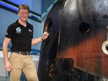 British Astronaut Tim Peake is Going Back to the ISS