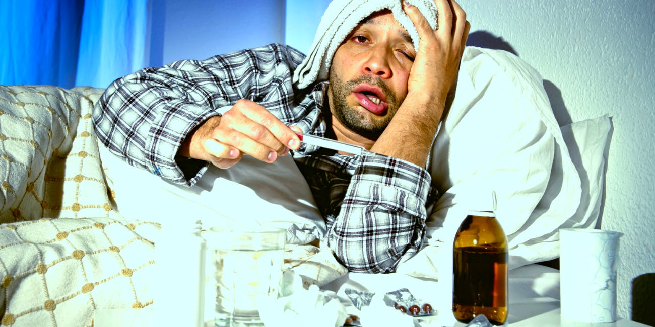 Scientists explore whether men really do have worse symptoms when they are sick.