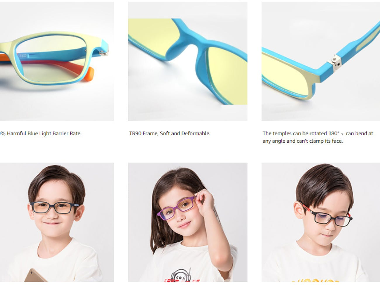The Peteye PC glasses are cute, even when you aren't wearing them