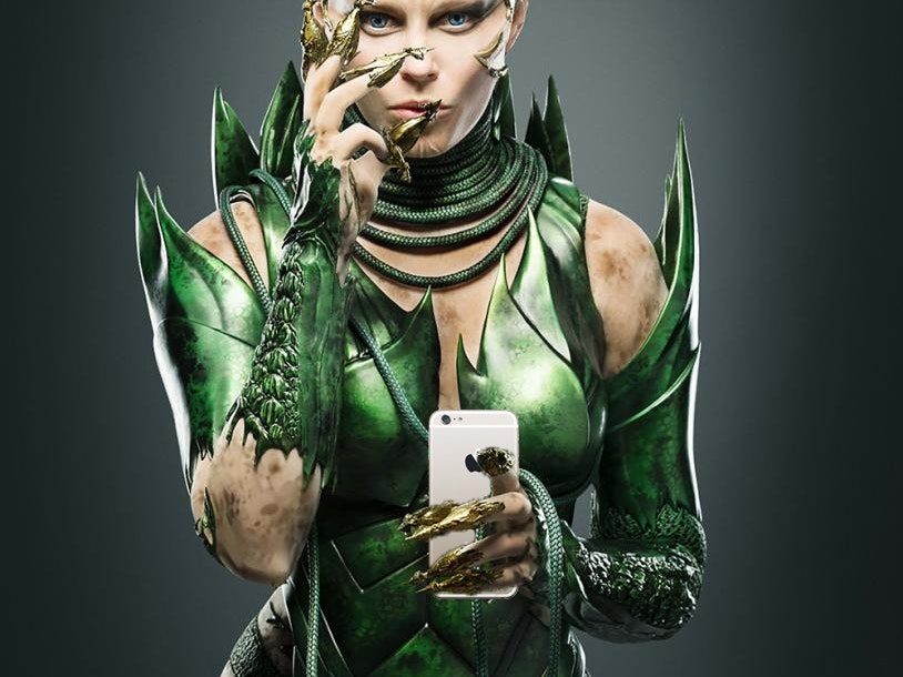 Rita Repulsa is Hunting for Power Rangers on Twitter