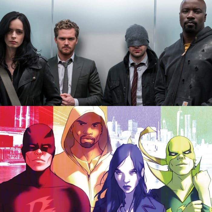Defenders comics Marvel