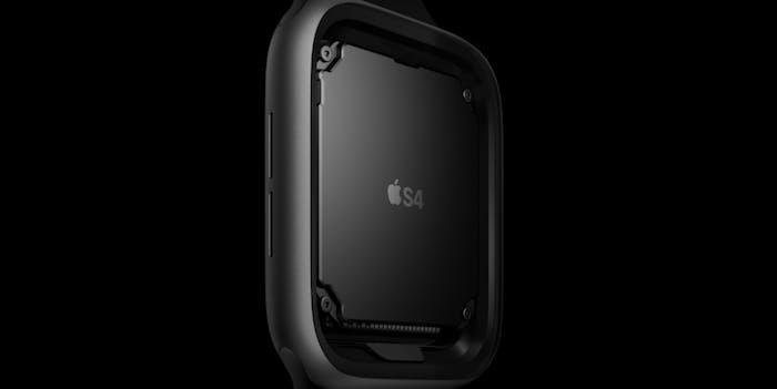 apple watch series 4 s4 chip
