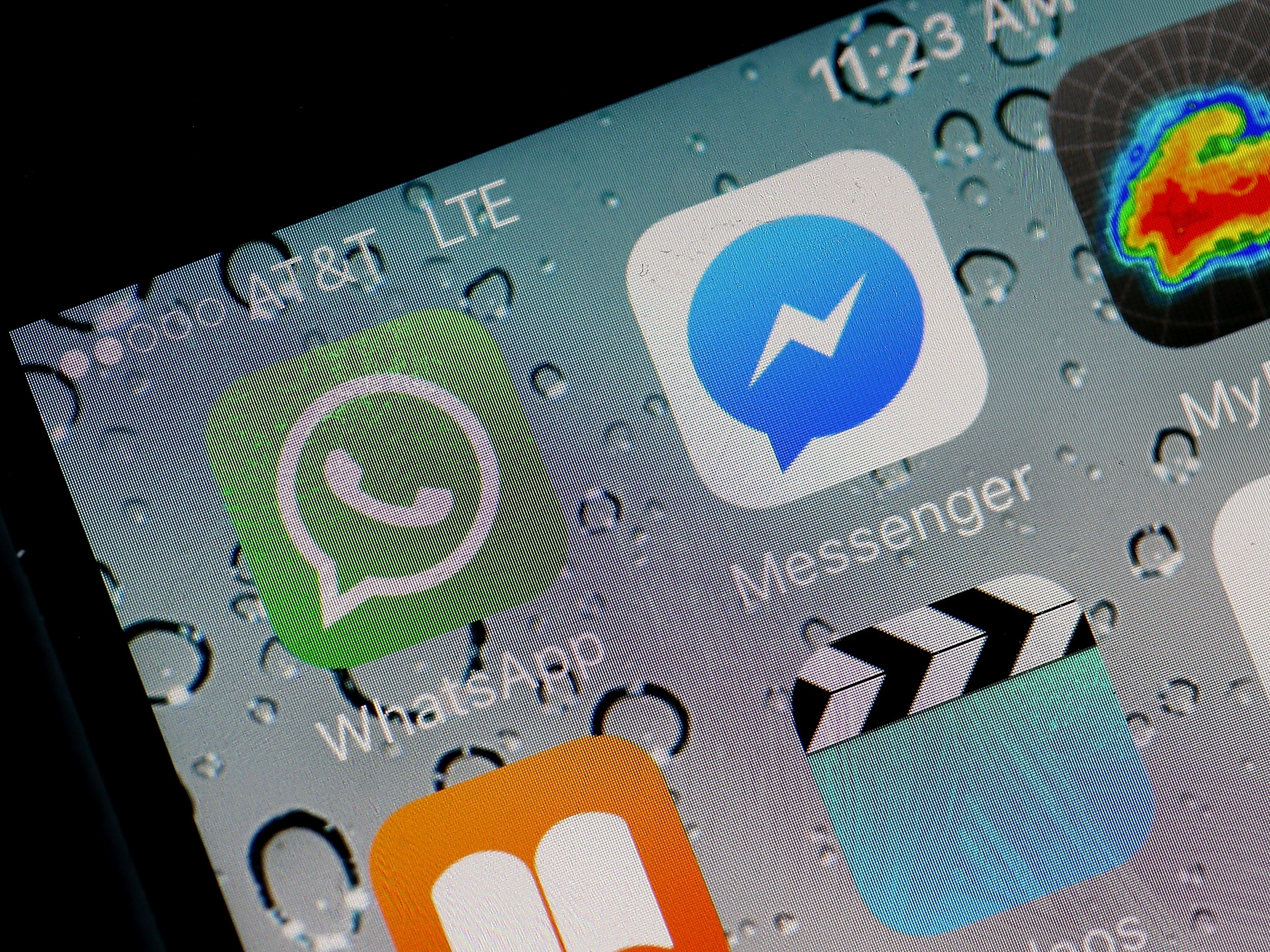 SAN ANSELMO, CALIFORNIA - APRIL 06:  In this photo illustration, the WhatsApp application is displayed on a iPhone on April 6, 2016 in San Anselmo, California. Facebook-owned mobile mobile messaging application WhatsApp announced that it has completed end-to-end encryption of of all communication and data shared on the app.  (Photo by Justin Sullivan/Getty Images)