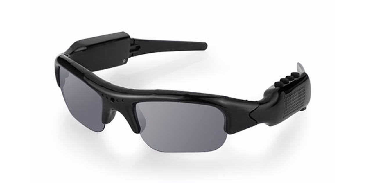 Video Recording Sunglasses & MP3 Player