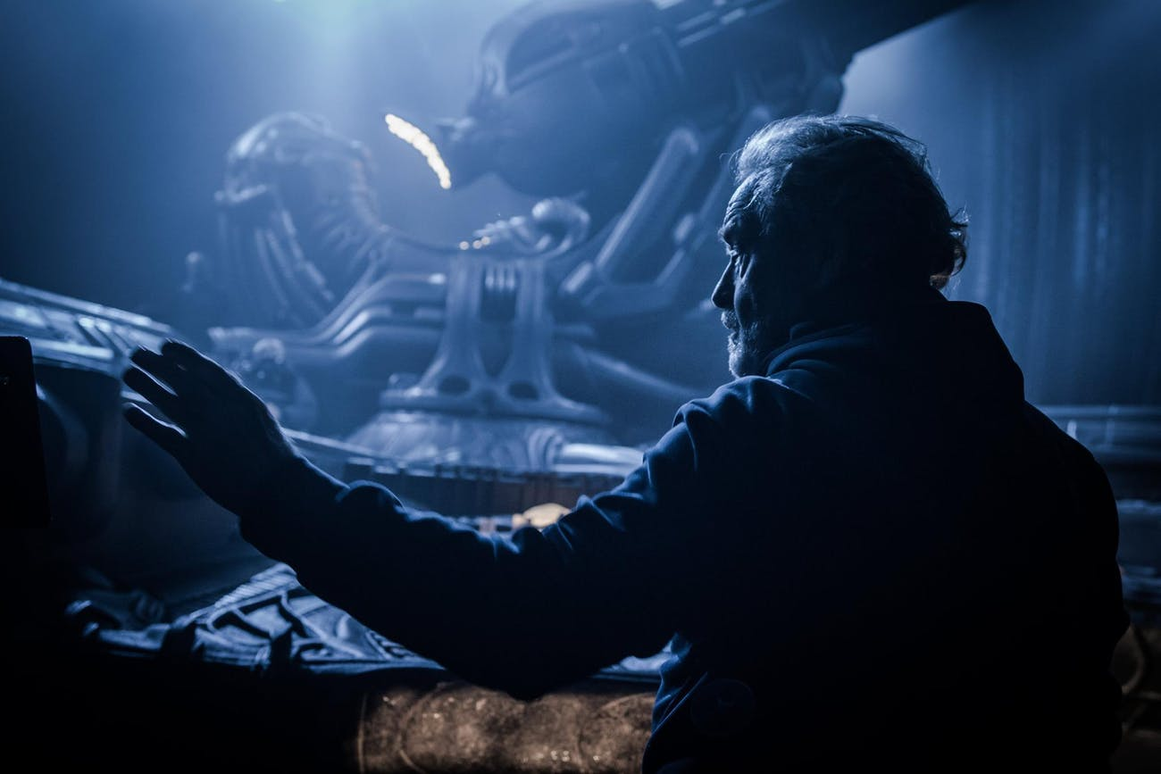 The Space Jockey in 'Alien: Covenant'.