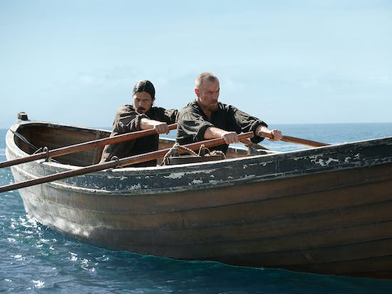'Black Sails' Just Had Flint Wrestle a Shark, Remains Legit Pirate TV