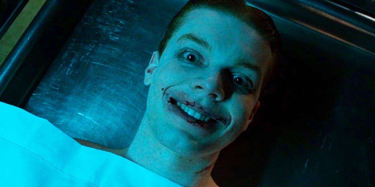 Cameron Monaghan as Jerome aka Joker in Fox's Batman TV show Gotham