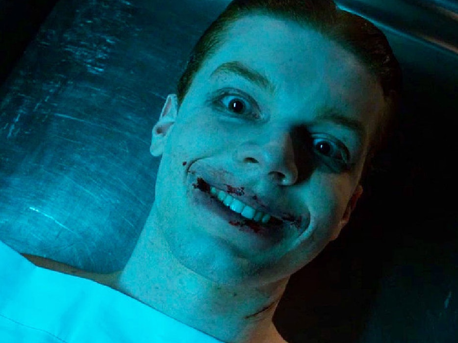 'Gotham' Debuts A Creepy, Cut Up Undead Joker