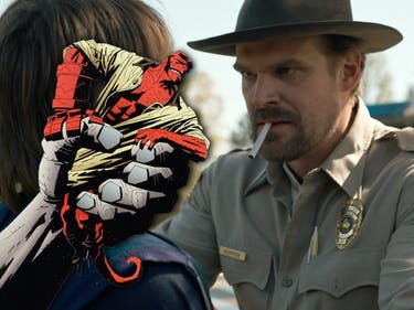 David Harbour Hellboy Reboot