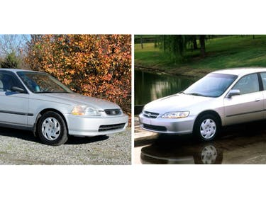 Honda Civic Honda Accord most stolen vehicles