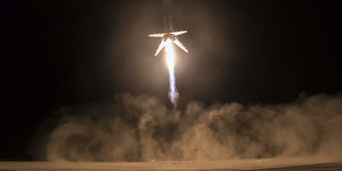 SpaceX Lands Falcon9 Rocket On the Ground for the Second Time | Inverse