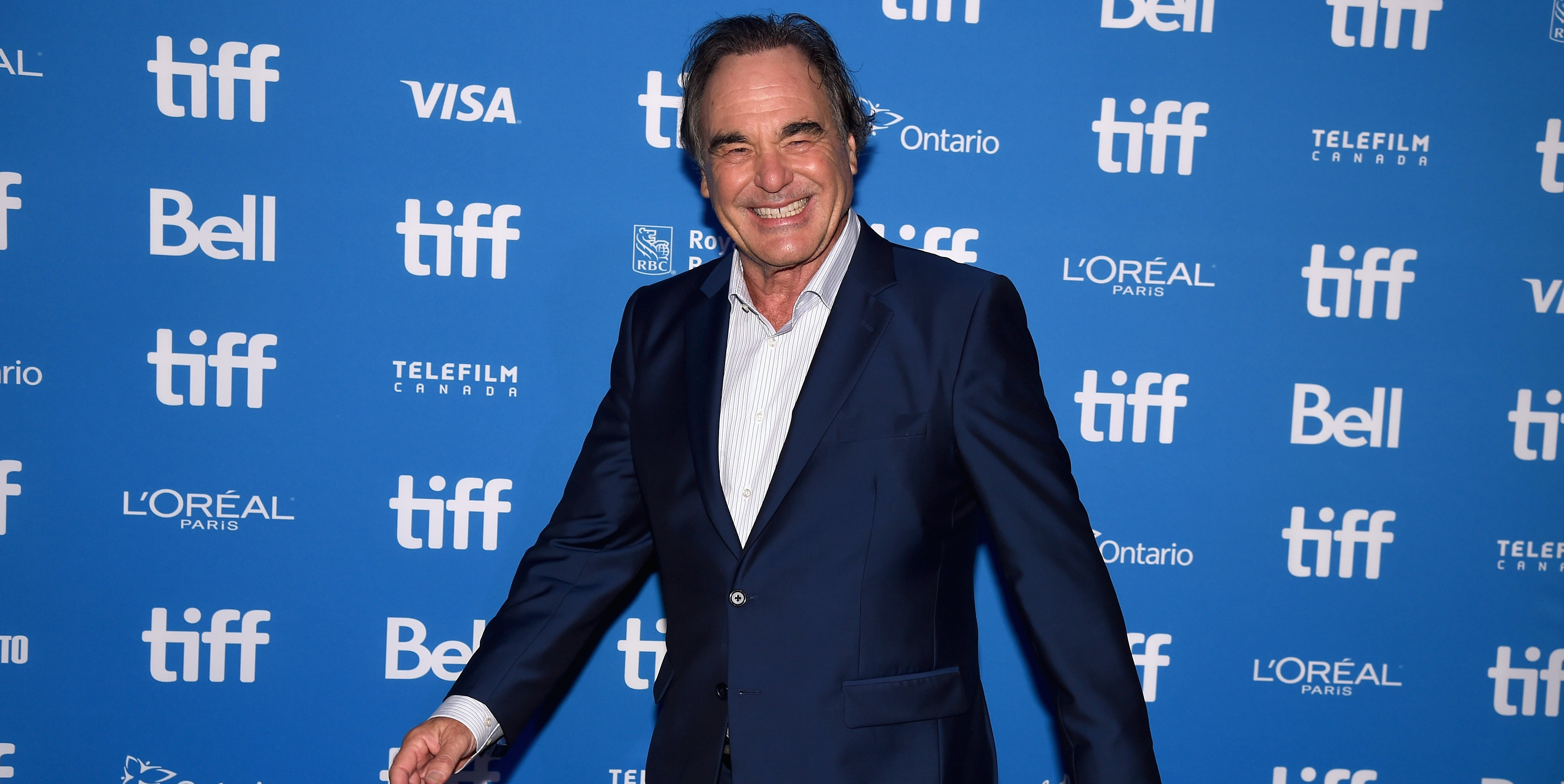 TORONTO, ON - SEPTEMBER 10:  Director Oliver Stone attends 'Snowden' press conference during the 2016 Toronto International Film Festival at TIFF Bell Lightbox on September 10, 2016 in Toronto, Canada.  (Photo by Kevin Winter/Getty Images)