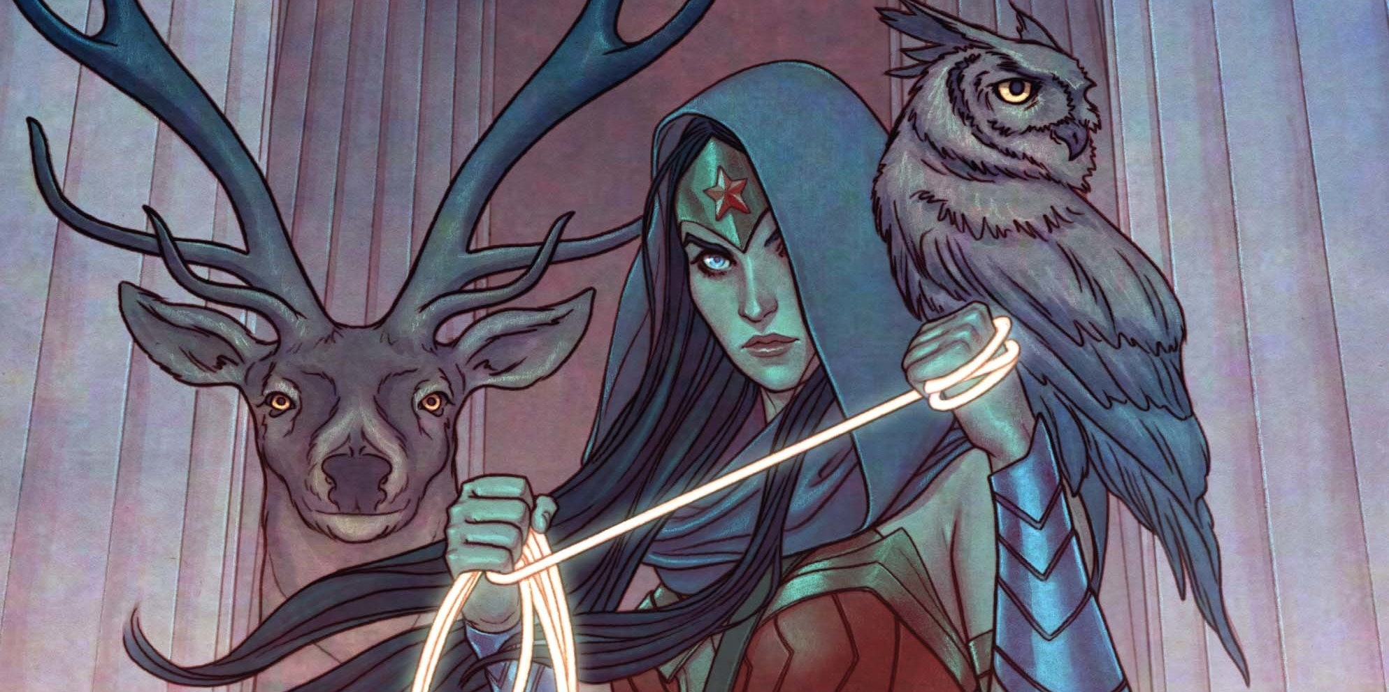 Variant Cover for DC Comics Wonder Woman Rebirth #8 by Jenny Frison