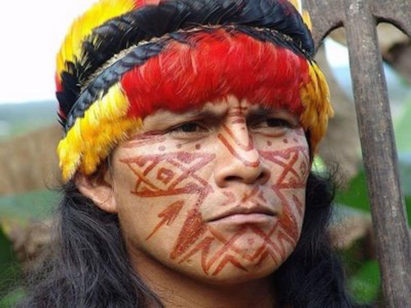 An Achuar Tribesman