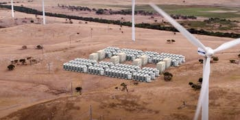 Tesla giant battery