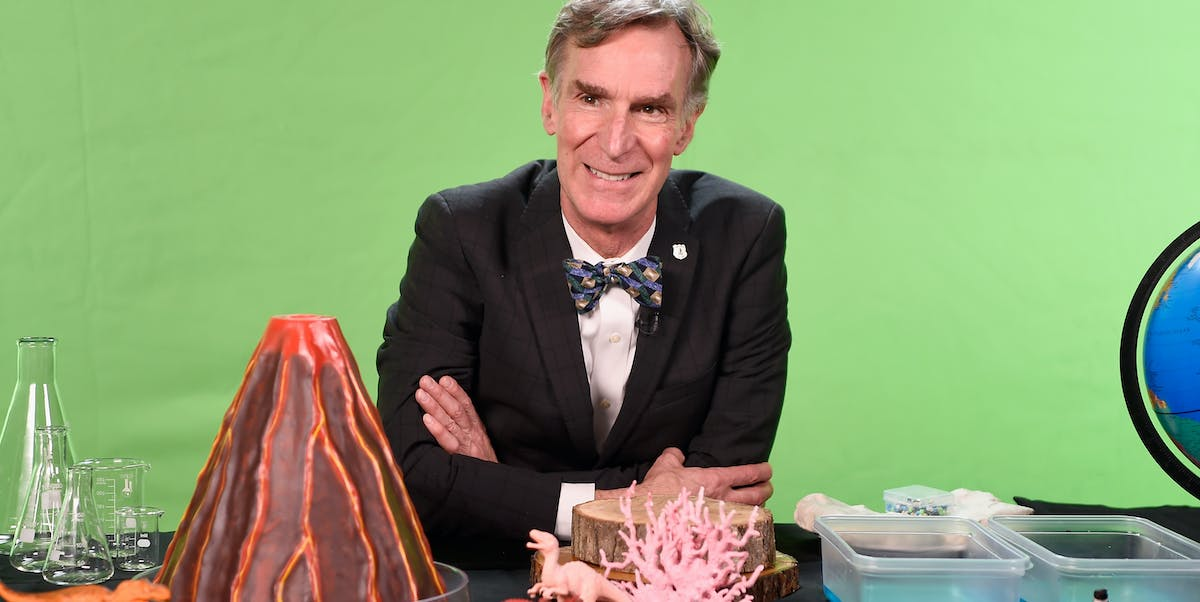 Bill Nye in his element.