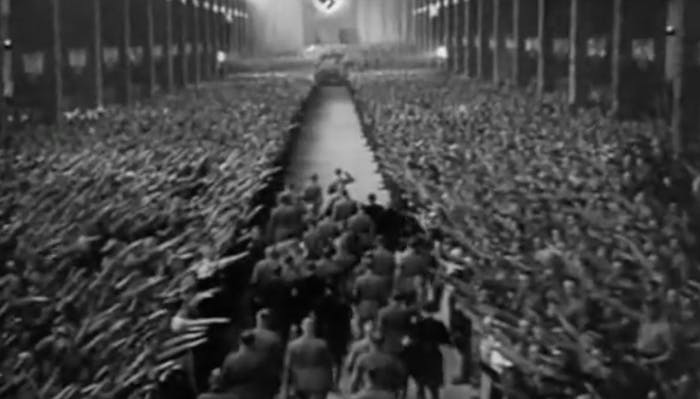 Not a deleted 'Star Wars' scene: this is a Nazi propaganda film.