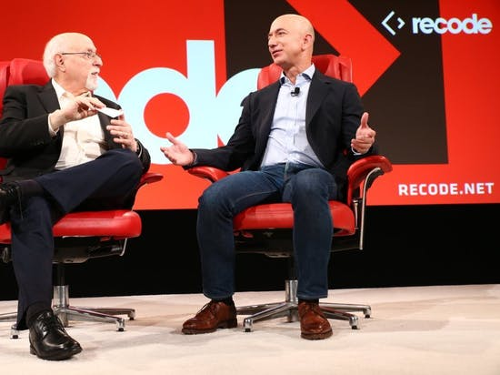Amazon's Jeff Bezos Gets Candid At CodeCon, Announces Email Address