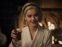 chilling adventures of sabrina a midwinter's tale christmas holiday special kiernan shipka