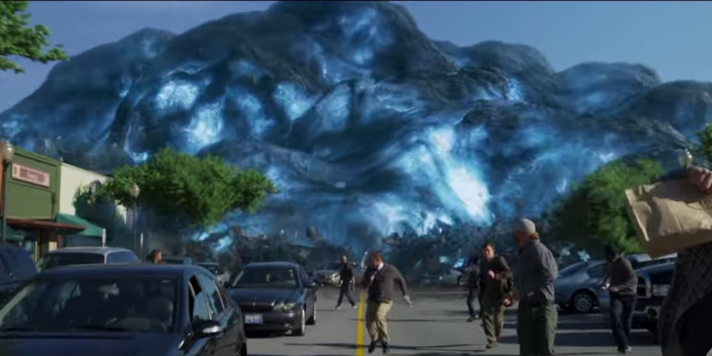 Some Weird Blob Thing Attacks Earth in 'Guardians Vol. 2'