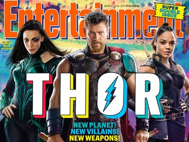 Why Doesn't Thor Have His Hammer (or Hair) in First 'Ragnarok' Photo?