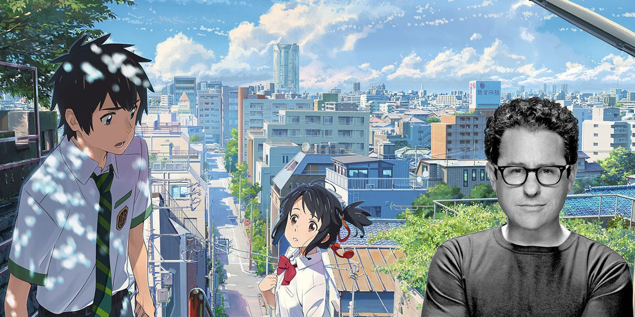 J. J. Abrams and Bad Robot will adapt a live-action version of 'Your Name'.