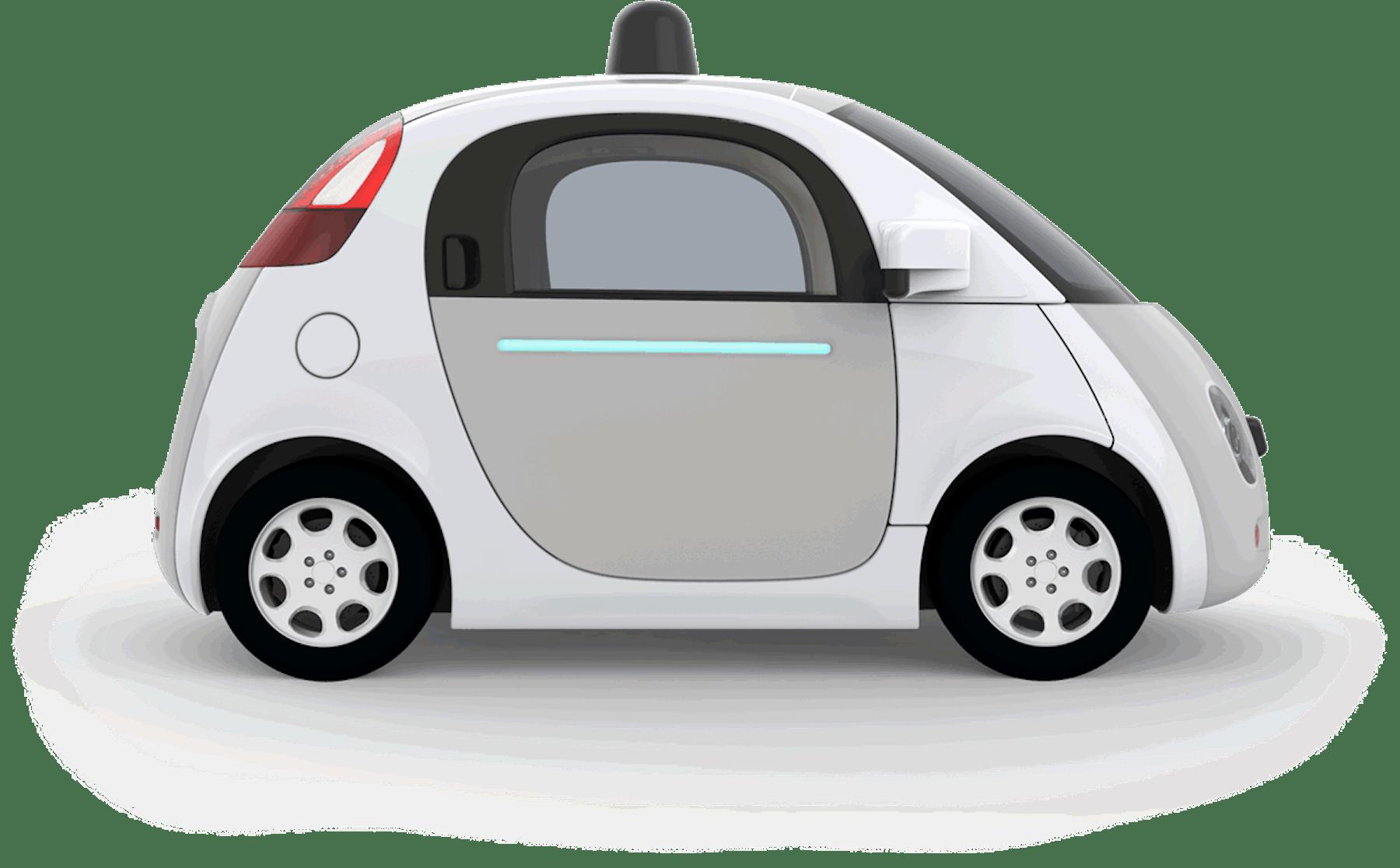 Google's self-driving prototype.