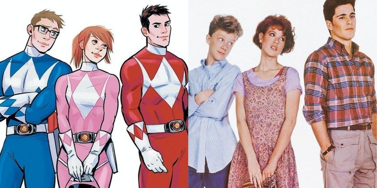 Power Rangers Teen Movie Covers