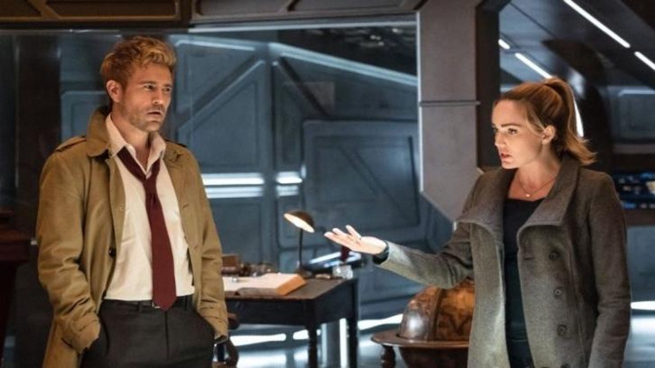 John Constantine temporarily joins the Legends of Tomorrow for a mission.