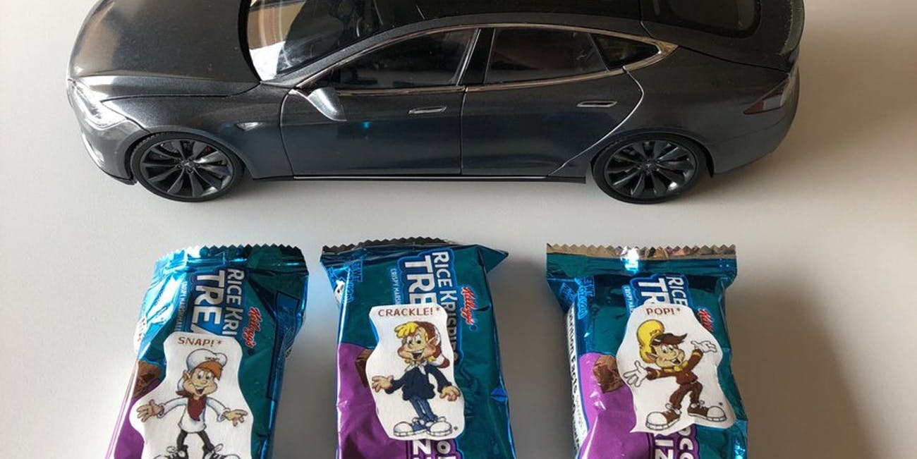 Elon Musk's Rice Krispie treats