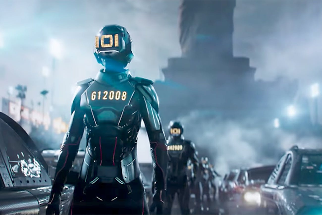 Innovative Online Industries (IOI) in 'Ready Player One' is peak corporate villainy.
