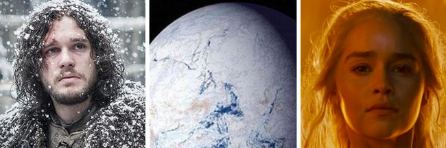 700 million years ago, Earth was covered in glaciers.